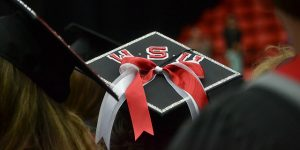 WSU Tri-Cities cap at commencement