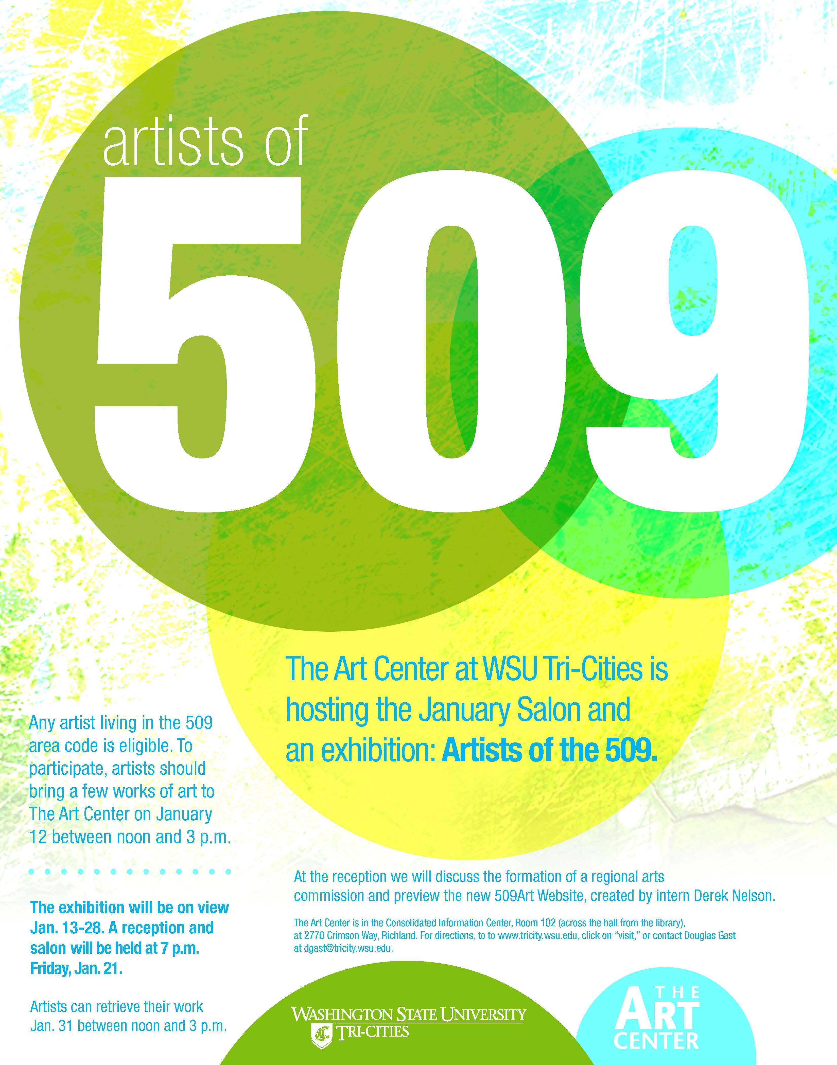 WSU TriCities Previous Exhibits - 509 area code