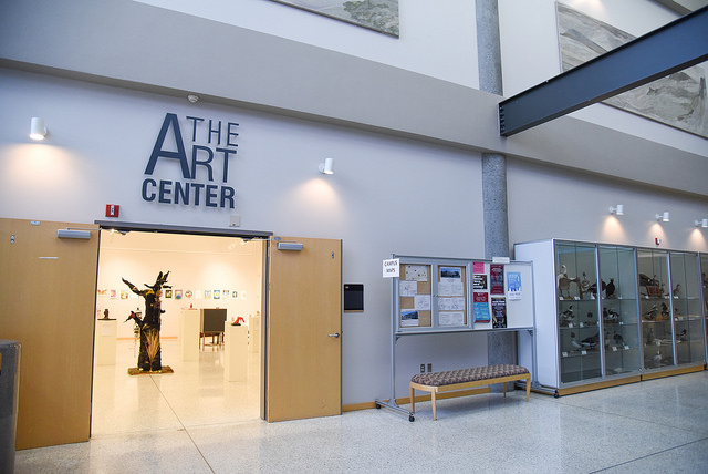 entrance to the art center
