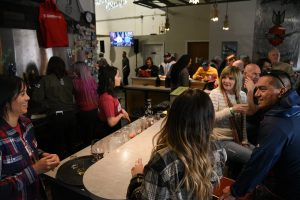 Bombing Range Brewing Company was packed Saturday for the release of their GIPA in partnership with the WSU Tri-Cities Patriots' Club