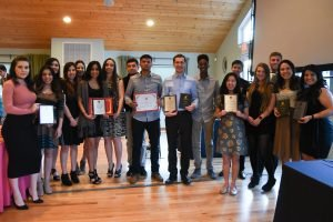 Evening of Excellence student award winners