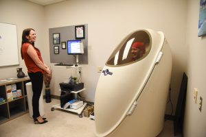 BOD POD at WSU Tri-Cities
