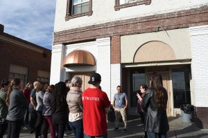 WSU Tri-Cities students attend a tour of the Tri-City Union Gospel Mission