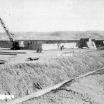 construction of water storage basins