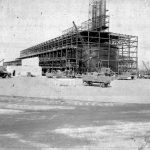 (1944) construction of 100 area water treatment facility