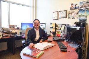 Bin Yang, associate professor of biological systems engineering