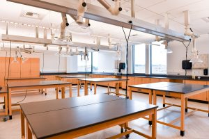 An anatomy lab in Collaboration Hall at WSU Tri-Cities