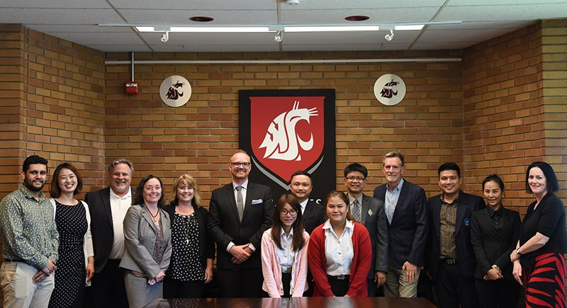 WSU Tri-Cities, VanWest College and Mahasarakham University partnership