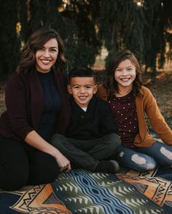WSU Tri-Cities education student Veronica Romero and her kids