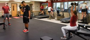 WSU Tri-Cities' expanded Den recreational facility
