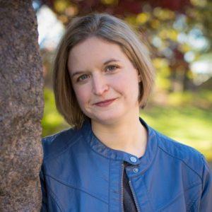 20 November 2017, Dr. Rebecca Erbelding portraits at the FDR memorial in Washington DC