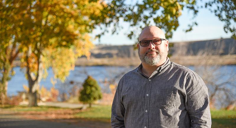 WSU Tri-Cities alumnus Geoff Schramm
