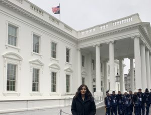 U.S. Rep. Dan Newhouse's office organized a White House and capitol tour for WSU Tri-Cities student Savanna Navarro Kresse while she was in Washington, D.C., to accept her award