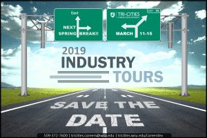 2019 Industry Tours Road Sign