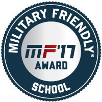 Military Friendly School 2017_designation