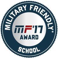 Military Friendly School 2017_designation