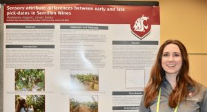 Madeleine Higgins, WSU Tri-Cities wine science student and Wine Spectator Student of the Year
