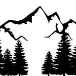 Outdoor Recreation image with mountains and trees