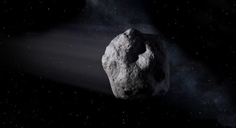 Photo by Artist's concept of a near-Earth object