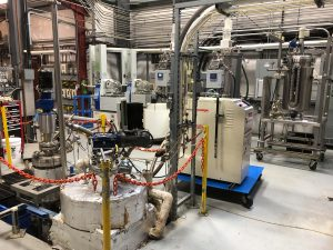 Pretreatment system used at the WSU bioproducts pilot plant