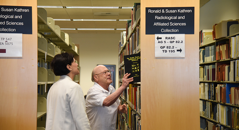 Ronald and Susan Kathren Radiological and affiliated sciences collection