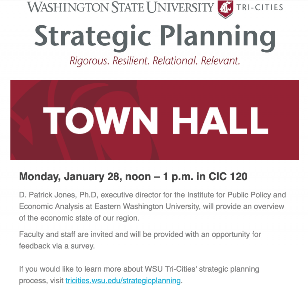 Strategic planning town hall