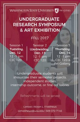 Undergraduate Research Symposium & Art Exhibition