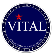 logo for the Veterans Integration to Academic Leadership (VITAL) Initiative