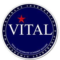 logo for the Veterans Integration to Academic Leadership (VITAL) Initiative