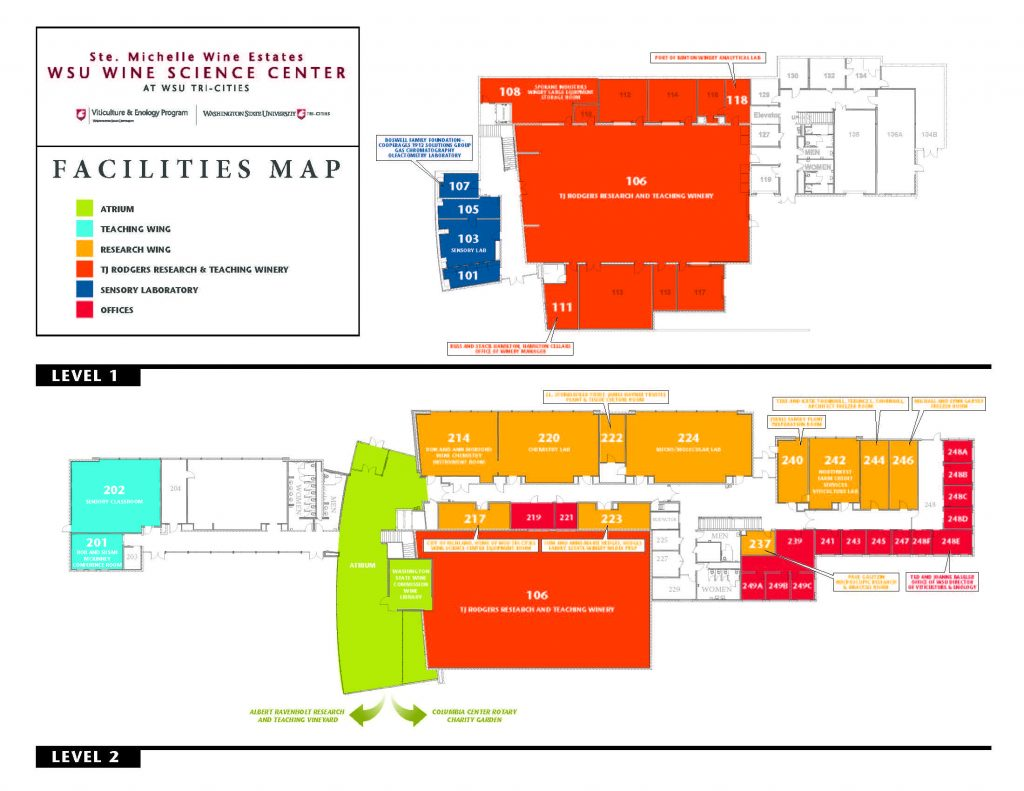 Wine Science Center MAP