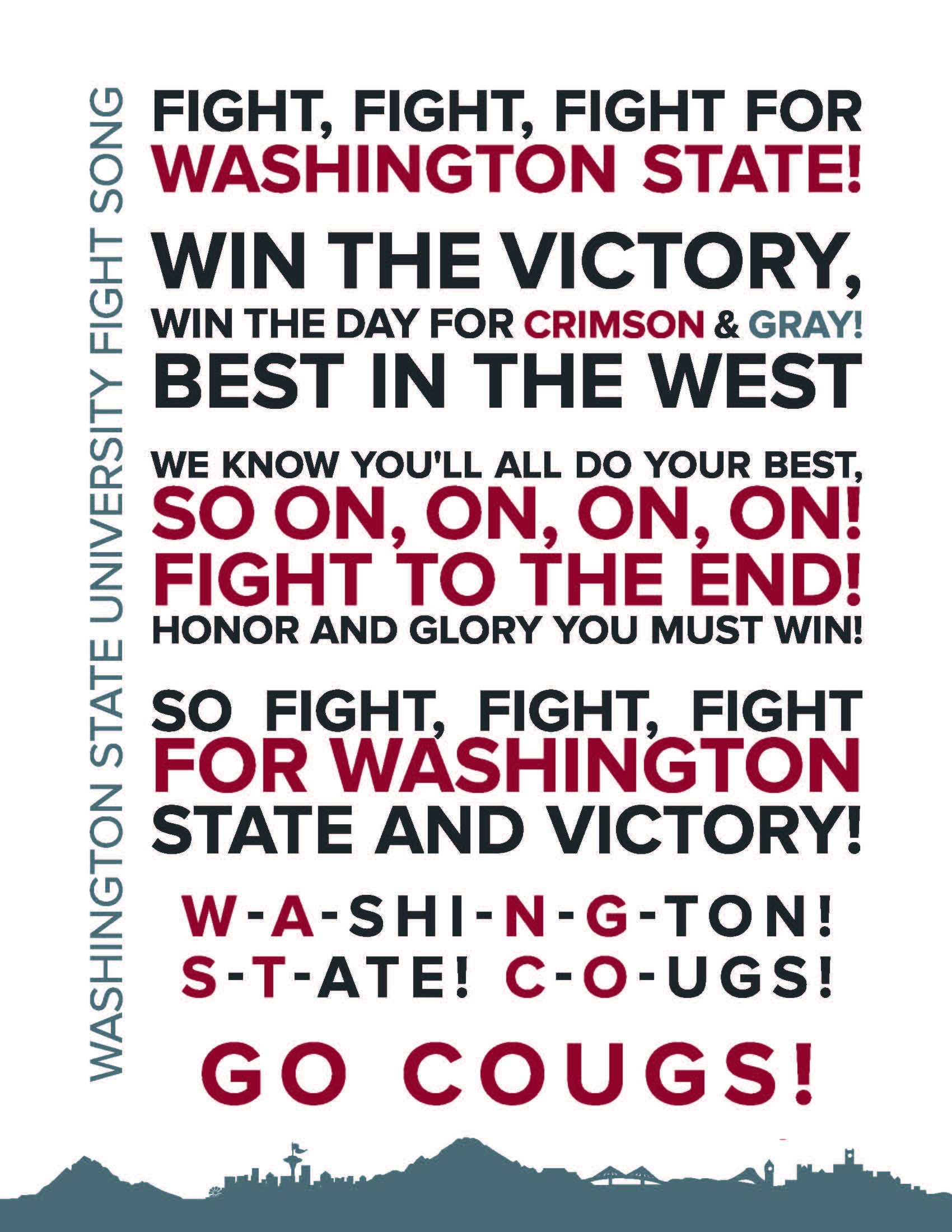 WSU Tri-Cities Fight Song