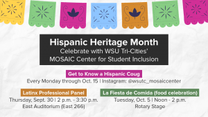 Hispanic Heritage Month Events