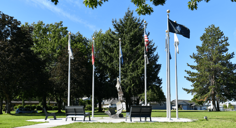 WSU Tri-Cities Stories Veterans Memorial