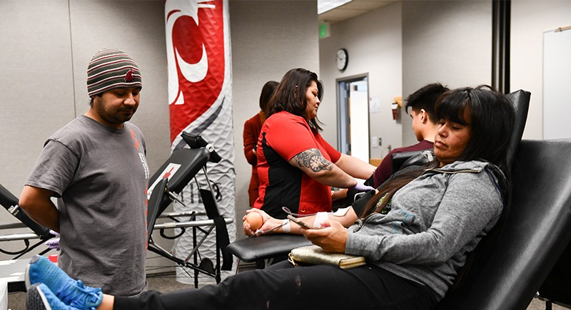 WSU Tri-Cities blood drive