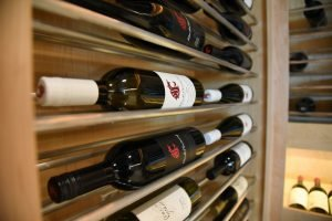 Bottles of WSU Blended Learning wine