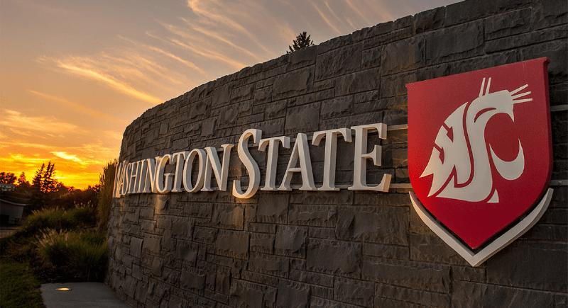 Washington State University sign-01