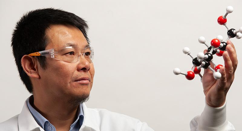 WSU professor Xiao Zhang