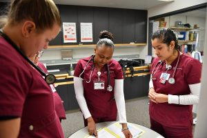 The WSU College of Nursing's Yakima program is located on the campus of Yakima Valley Community College
