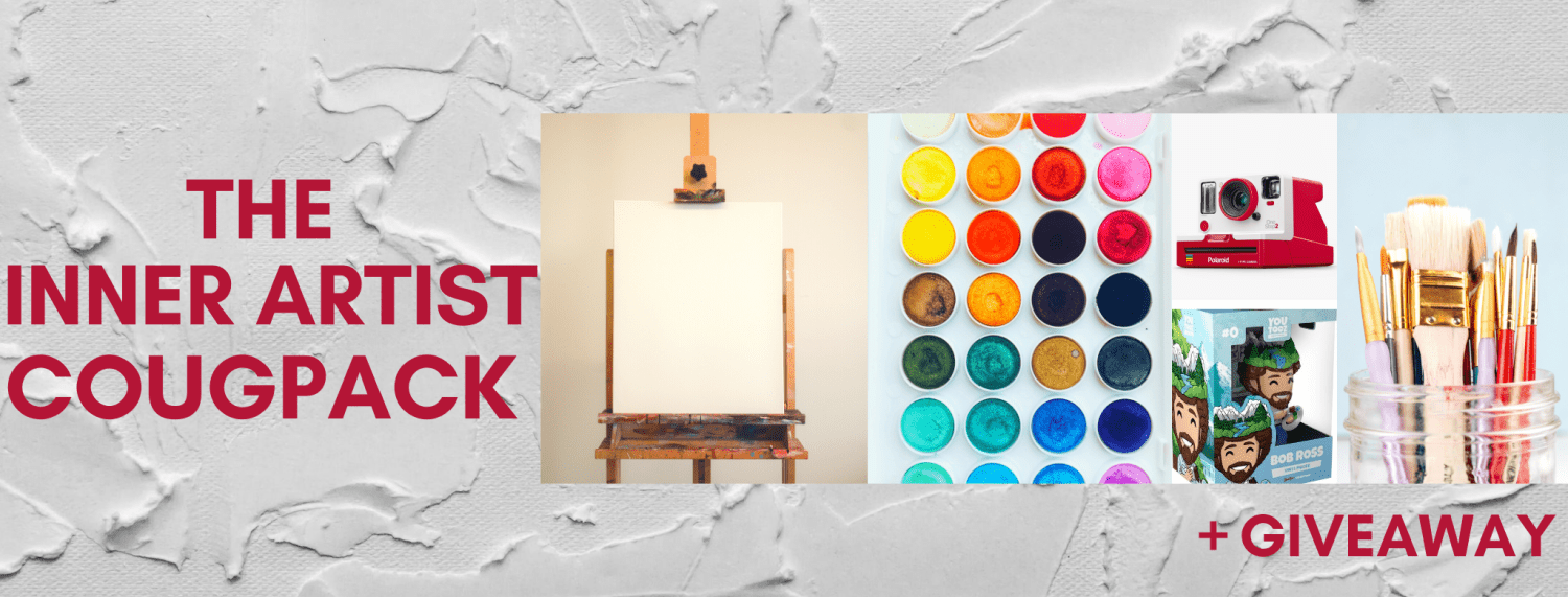 The inner Artist Cougpack +Giveaway (paint supplies)