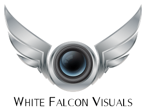 White Falcon Visuals logo